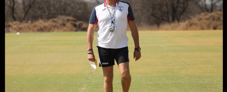 FILE: Luc Eymael during his time with Free State Stars. Picture: @FreeStateStars/Twitter.
