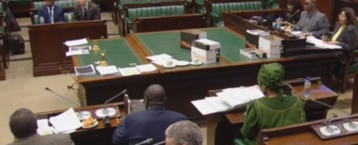FILE: A screengrab of MPs resuming public hearings on whether to amend the Constitution to allow for land expropriation without compensation.