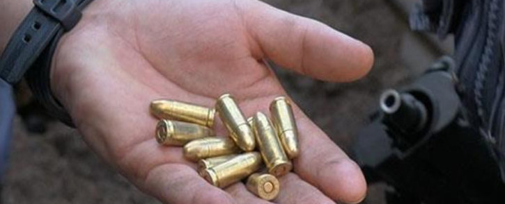 FILE: Police found bullets near the staircase after the shooting in Ottery. Picture: Supplied.