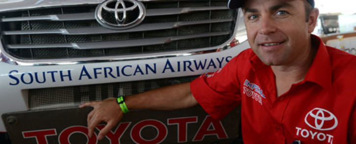 Toyota Imperial driver Giniel de Villiers. Picture: AFP
