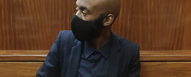 Ntuthuko Shoba, the man accused of masterminding the murder of Tshegofatso Pule appears in the Johannesburg High Court on the first day of his murder trial. Picture: Thando Kubheka/Eyewitness News