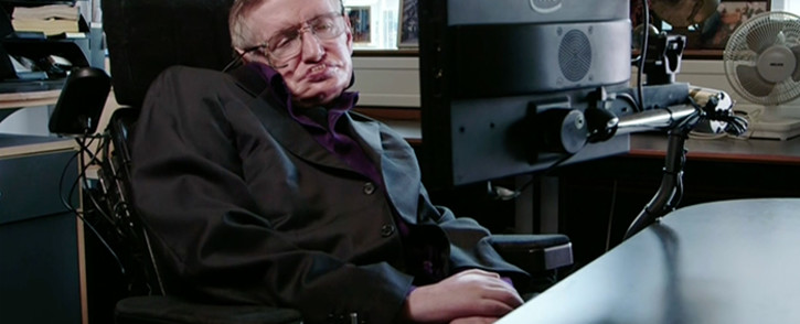 FILE: A screengrab of British physicist Stephen Hawking.