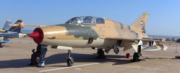 A Iran Air Force F-7 Airguard in Vahdati Airbase Air Show. Picture: Wikimedia Commons