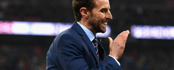 FILE: England coach Gareth Southgate. Picture: Official England Football Facebook page