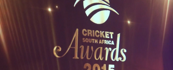 Logo from the Cricket South Africa awards ceremoney 2015 at Gallagher estate in midrand. Picture:kgothatso Mogale/EWN