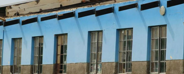 One of the schools damaged by a storm in the Harry Gwala District in KwaZulu-Natal. Picture: @kzngov/Twitter