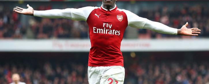 FILE: Arsenal forward Danny Welback celebrates a goal. Picture: @Arsenal/Twitter