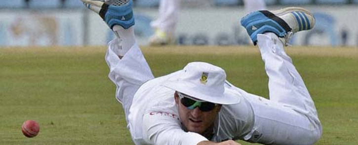 FILE: Graeme Smith says he's proud of the team depise their 2-1 series defeat to Australia. Picture: AFP.