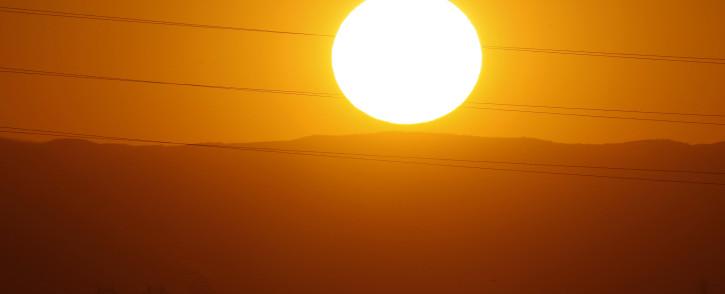 Heatwave.  Picture:AFP