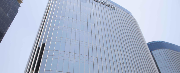 Discovery Group offices in Sandton. Picture: Abigail Javier/EWN