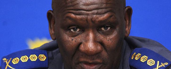 Former National Police Commissioner Bheki Cele. Picture: AFP.
