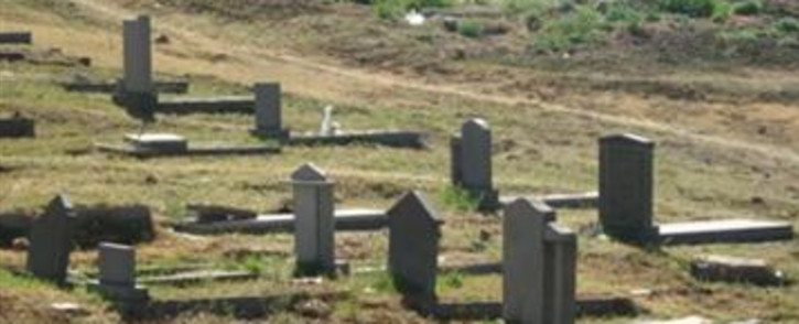 Grave Yard. Picture: EWN