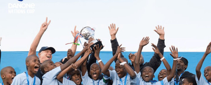 Muzuvukile Primary team headed for the Danone Nations Cup in Barcelona. Picture: Danone Nations Cup/Facebook.