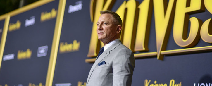 Daniel Craig arrives at the premiere of Lionsgate's 'Knives Out' at Regency Village Theatre on 14 November 2019 in Westwood, California. Picture: AFP