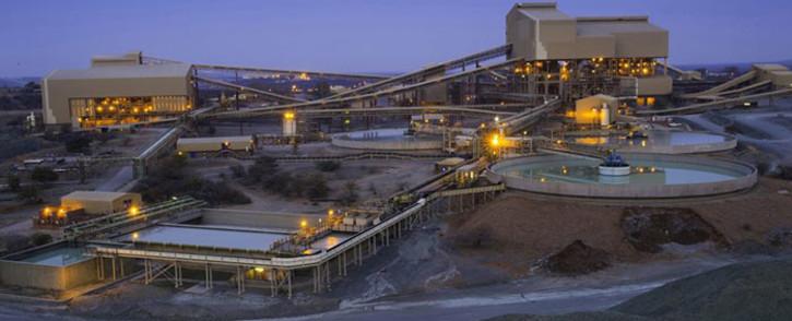 Amplats plant at De Beers Venetia mine. Picture: Facebook