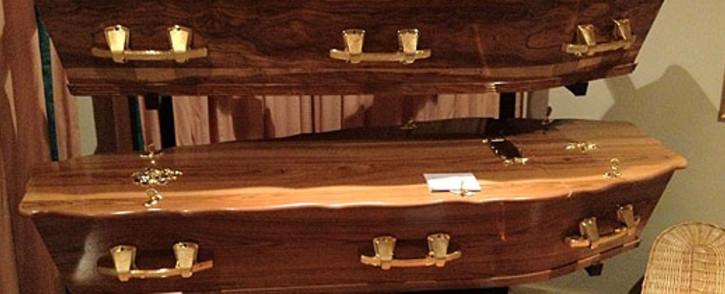 Coffins. Picture: EWN.