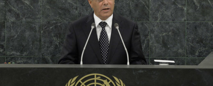 FILE: Ali Zeidan (pictured) will be temporarily replaced by Abdallah al-Thinni, who was sworn in on Tuesday evening. Picture: AFP.