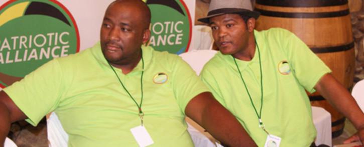 FILE: Patriotic Alliance President Gayton McKenzie (left). Picture: Facebook