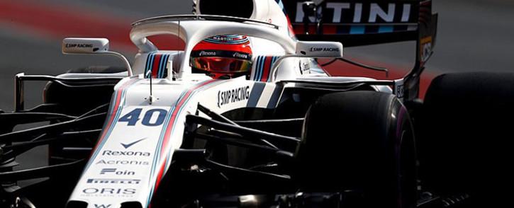 Williams F1 driver Robert Kubica. Picture: @WilliamsRacing/Twitter