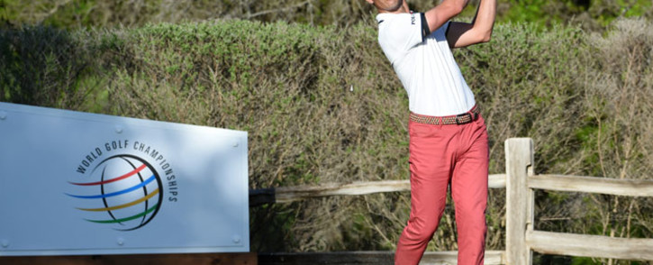 Billy Horschel of the United States plays his shot on the 17th hole in his match against Scottie Scheffler of the United States during the final round of the World Golf Championships-Dell Technologies Match Play at Austin Country Club on 28 March 2021 in Austin, Texas. Picture: Steve Dykes/AFP