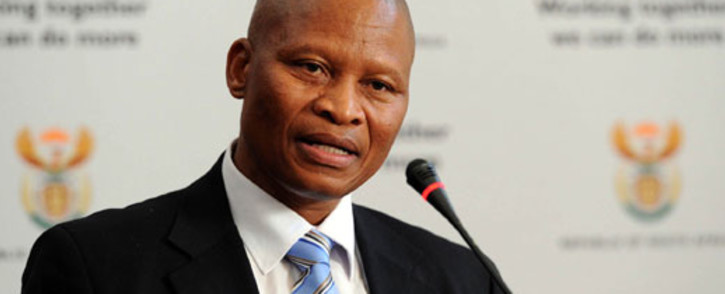 FILE: Chief Justice Mogoeng Mogoeng received the lists at a ceremony held at the Constitutional Court. Picture:GCIS