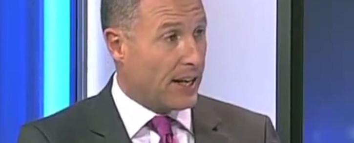 FILE: Screengrab of eNews anchor Andrew Barnes.