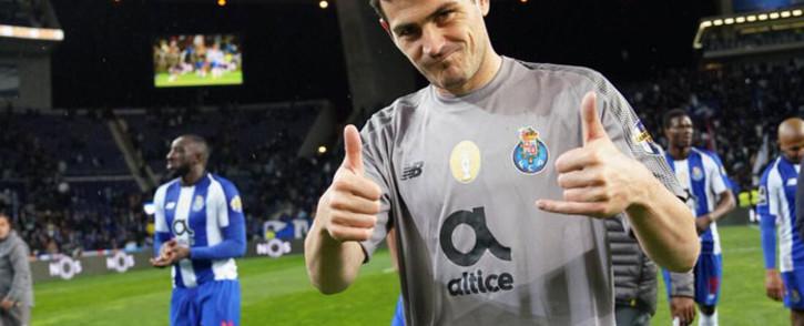 FILE: Former Porto goalkeeper Iker Casillas. Picture: @IkerCasillas/Twitter