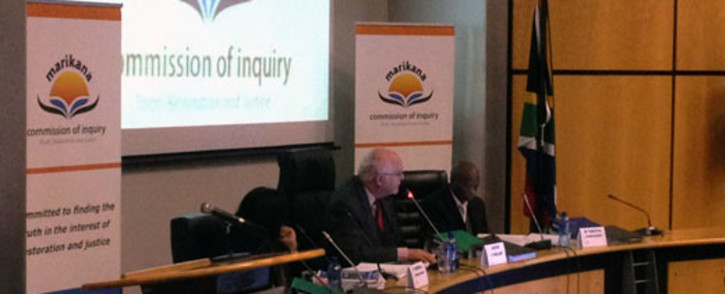 FILE: The Farlam Commission of Inquiry is in its final phase after sitting for 293 days. Picture: Gia Nicolaides/EWN.