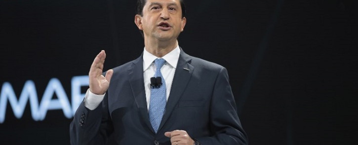 FILE: Jose Munoz, Chairman of Nissan North America, speaks at the North American International Auto Show on 9 January 2017 in Detroit, Michigan. Picture: AFP