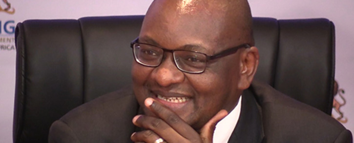 Gauteng Premier David Makhura. Picture:Vumani Mkhize/EWN.