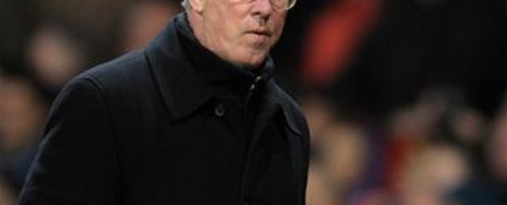 Manchester United coach Alex Ferguson. Picture: AFP