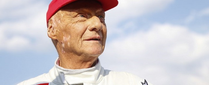 "Formula One legend Austrian Niki Lauda attends the ""legends race"" at the racetrack in Spielberg on 30 June 2018, ahead of the Austrian Formula One Grand Prix. Picture: AFP"