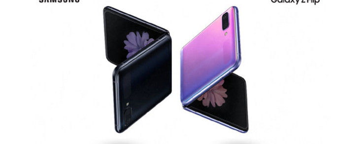 The Samsung Galaxy Z Flip. Picture: Samsung