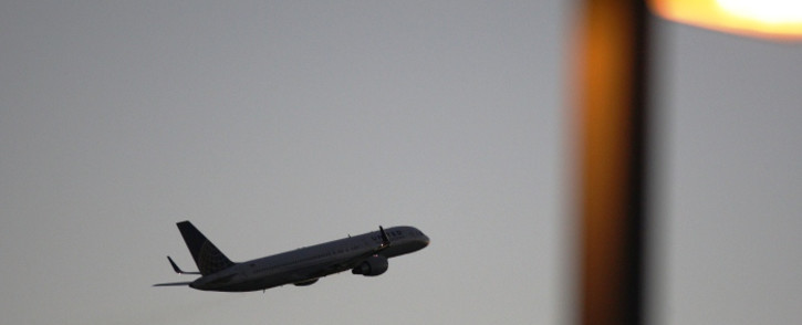 A United Airlines jet takes off at LAX in November 2014. Picture: AFP