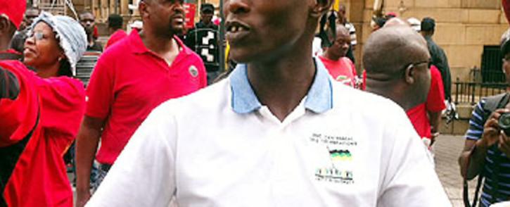 Suspended ANCYL Secretary-General, Sindiso Magaqa