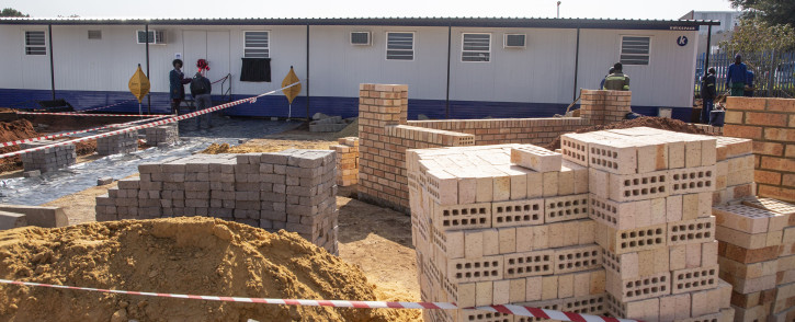The new substance abuse treatment centre in Eldorado Park. Picture: Ihsaan Haffejee/EWN