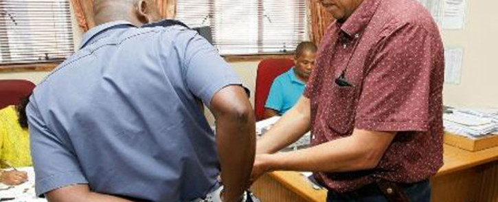 The South African Police Service (SAPS) in the Western Cape arrested a 38-year-old constable at the Kuils River police station for house robbery. Picture: SAPS via Twitter