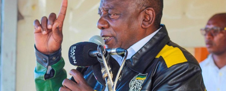 FILE: ANC President Cyril Ramaphosa told supporters at a rally in kwaNobuhle, Eastern Cape. Picture: ANC