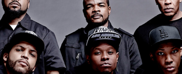 Cast from the movie 'Straight Outta Compton'. Picture: Straight Outta Compton/Facebook.