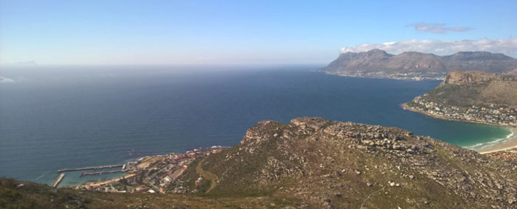 A view of Kalk Bay in the Silvermine Nature Reserve. Picture: EWN
