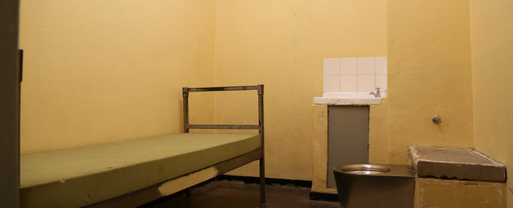 A prison cell. Picture: Christa Eybers/EWN.