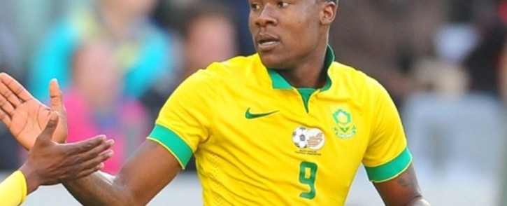 Bafana Bafana's forward, Thamsanqa Gabuza. Picture: Facebook.