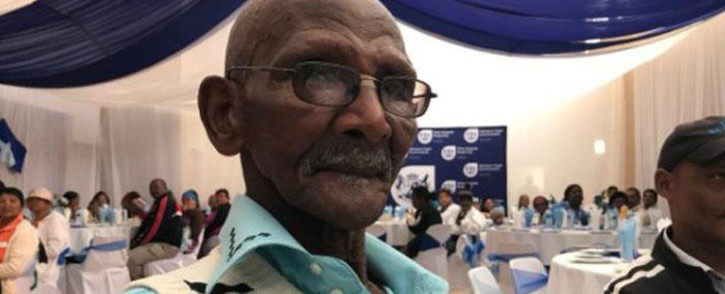 The 101-year-old April Jooste from Clanwilliam is one of the residents awarded for household gardens. Picture: Giovanni Gerbi/EWN