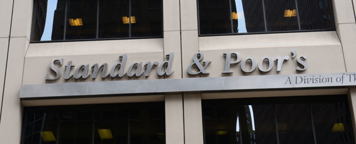 FILE: Credit rating agency Standard & Poor's. Picture: AFP