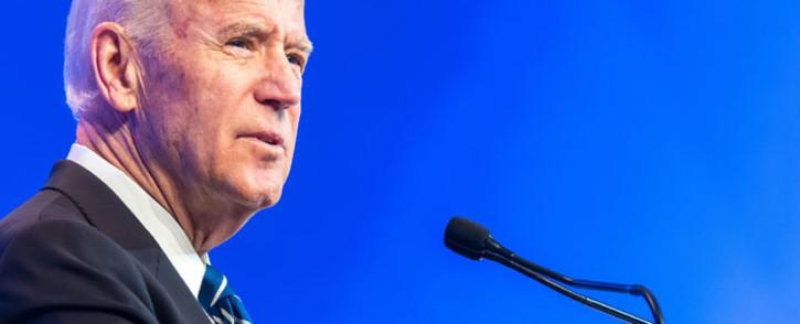 FILE: Joe Biden. Picture: World Economic Forum.