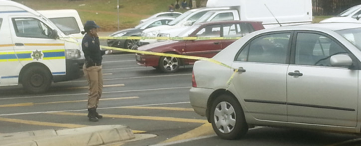 FILE: Paramedics treated three people on William Nicol Drive this afternoon following a violent fist fight between two taxi associations. Picture: EWN.