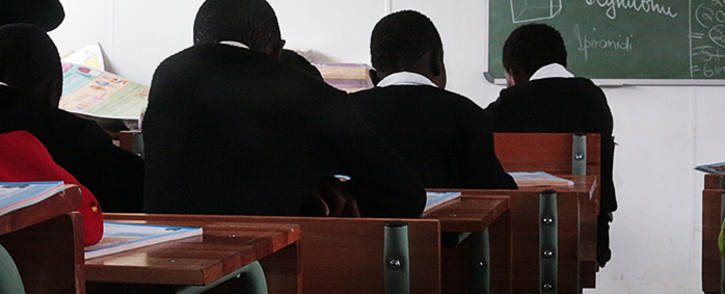 Children sit in class at the refurbished Samson Senior Primary School in the Eastern Cape. Picture: Reinart Toerien/EWN