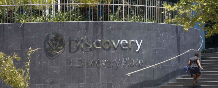 Discovery Group offices in Sandton. Image: Abigail Javier/EWN