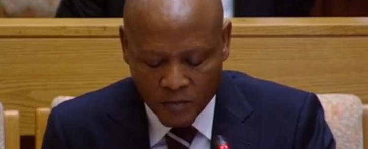 FILE: A YouTube screengrab of Abram Masango appearing before a parliamentary committee into state capture at Eskom.