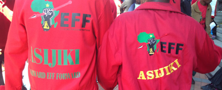 FILE: Questions around the Gupta family in provincial government have so far dominated the EFF's questions. Picture: Masego Rahlaga/EWN.